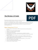 The Division 1.8 GUIDE