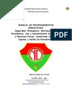 Manual Procedimientos Operativos 2018 Final 3