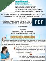Lic. Juan Roberto Munayco Mendieta - Lic. Rocio Del Pilar Rocio Malqui