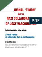 Nazi Collaboration of Jose Vasconcelos