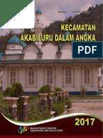 Kecamatan Akabiluru Dalam Angka 2017