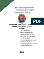 Plan de Contigencia Contra Incendios Unsa 2018