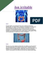 Colon Irritable PDF GRATIS.