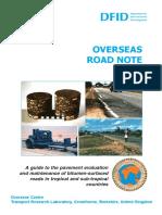 Overseas Road Note 018
