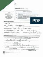 2018 08 26 F. Hunter MacDonald Attorney Grievance  with Washington State Bar Association