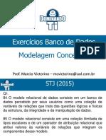 Exercicio CESPE Modelo Conceitual Banco de Dados