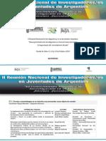Resumenes II ReNIJA -Salta 2010