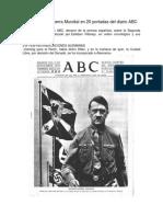 La Segunda Guerra Mundial en 20 Portadas Del Diario ABC