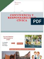 Convivencia y Responsabilidad Cívica