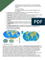 Estudio de La Geografía Física