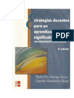 David - Frida Díaz Barriga - Estrategias Docentes Para Un Aprendizaje Significativo