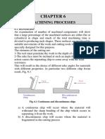 Ch 6 Machining Processes