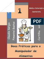 Cartilha Sobre Boas Prc3a1ticas Para Manipulador de Alimentos Volume i