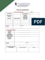 Ficha Laboratorio Endodoncia 2018-2