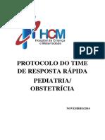 Protocolo Time de Resposta Rápida