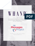whandtm oklahoma messages project final report