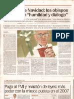 Clarín Bergoglio Leyes Maratón
