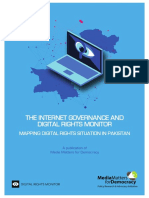 The Internet Governance and Digital Rights Monitor