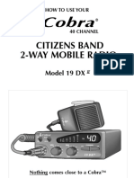 Cobra 19 DX manual