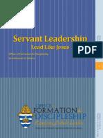 Servant Leadership Presentation St_ Philip Benizi Parish Leaders Workshop.pptx