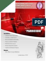 DELITO DE PARRICIDIO