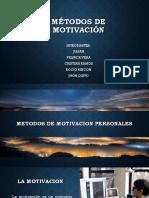 Métodos de Motivación