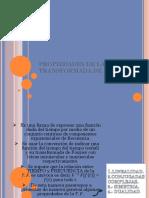 Propiedades de La Transformada de Fourier