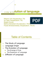 Evolution of Language.ppt