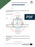 Ejercicios Propuestos Derivadas (1)