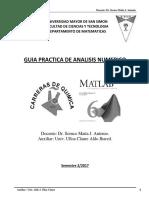 Problemas Propuestos de Analisis Numerico Para Ingenieria Quimica