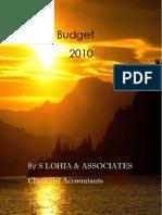 India Budget 2010