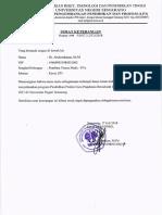 No 2648 Surat Keterangan Revisi