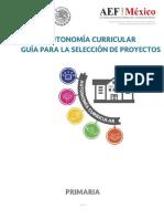 GUÍA PARA LA SELECCIÓN DE PROYECTOS-PRIMARIA.25042018