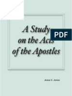 A Study on the Acts of the Apostles by Jesse C. Jones