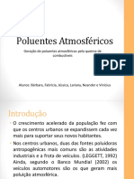 Poluente Atmosféricos - Combustíveis