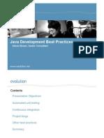 Java Development Best Practices