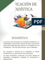 Clasificación de La Estadística