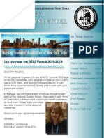 The STAT Newsletter Summer 2018 Issue