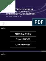 SATYA RINALDI Disruptive Tech. Opportunity Challenges TSR v1.3 1 1