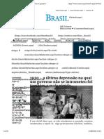 Mises Brasil - 1920 - a última depressão na qual um governo não se intrometeu foi também a mais rápida