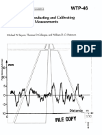 WTP-46 Guidelines for Conducting Calibrating Road Roughness Measurements