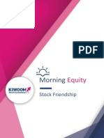 Kiwoom Trading Plan , 27 Agustus 2018