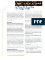 International Finance Reporting Std for Hedge Funds