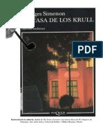 En Casa de los Krull - Georges Simenon