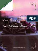 SongBook Love Ballad Collection Piano Solo