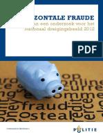 Horizontale fraude - politie [2012]