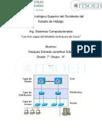 Las tres capas del Modelo Jerárquico de CiscoJonathan.docx