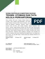 Skema Sertifikasi Kompetensi Teknisi Akuntansi Yunior