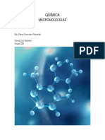 QUÍMICA Macro Moléculas
