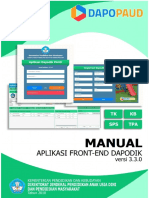 Manual Frontend Paud Versi 3.3.0